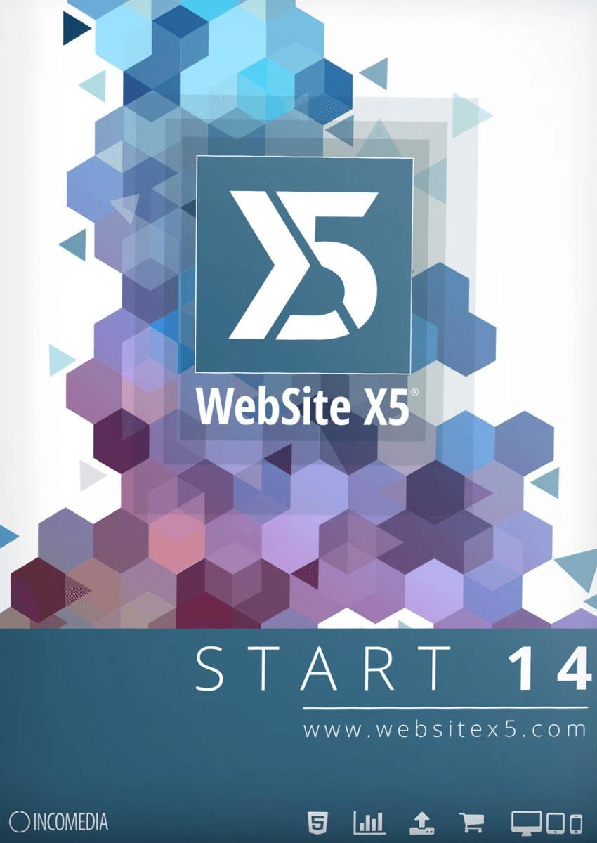 Incomedia WebSite X5 Start 14
