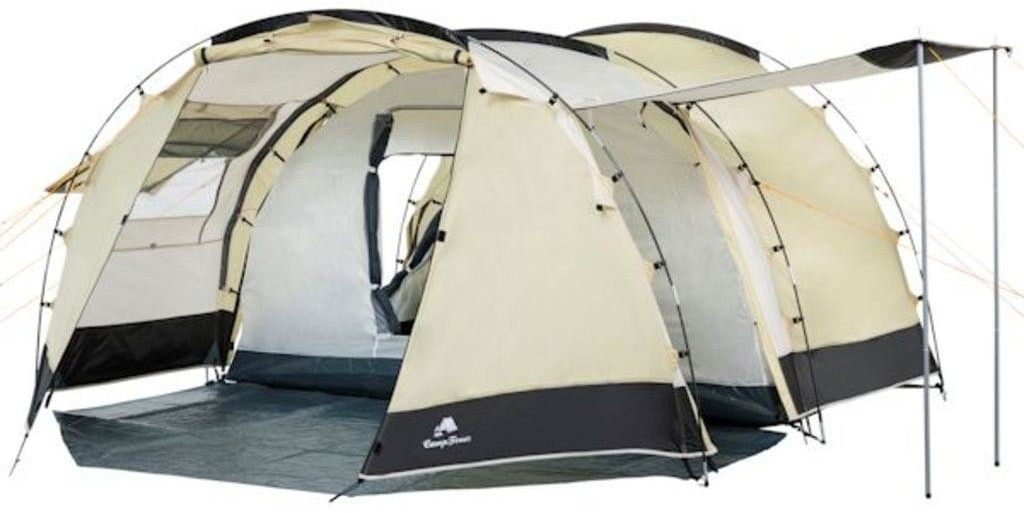 CampFeuer Tunnel Tent 4 (1018, sand)