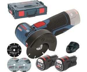 16ebbdb70dc2dd Bosch GWS 12V-76 Professional (2 x 3,0 Ah + L-Boxx) au meilleur prix sur  idealo.fr