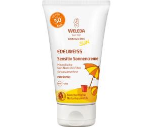 Weleda Edelweiss Sensitiv Sonnencreme LSF 50 Baby & Kids (50ml)