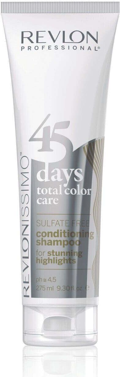 Image of Revlon 45 Days Total Color Care Shampoo Stunning Highlights (275 ml)