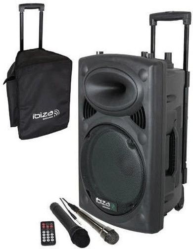 Image of Ibiza Sound PORT 10 UHF-BT