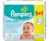 Pampers Feuchttücher fresh clean 2x6x64er Tücher