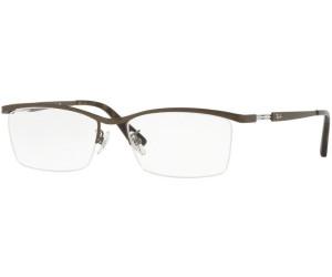 RAY BAN RAY-BAN Herren Brille » RX8746D«, grau, 1000 - grau