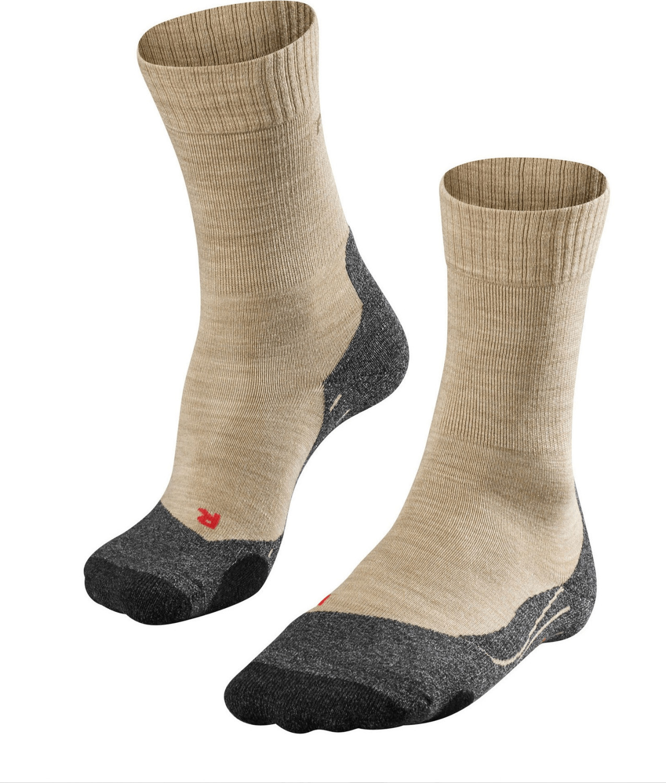 Falke TK 2 Damen Trekking Socken nature mel.