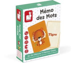 Carte Europe Janod.Memo Des Mots Au Meilleur Prix Sur Idealo Fr