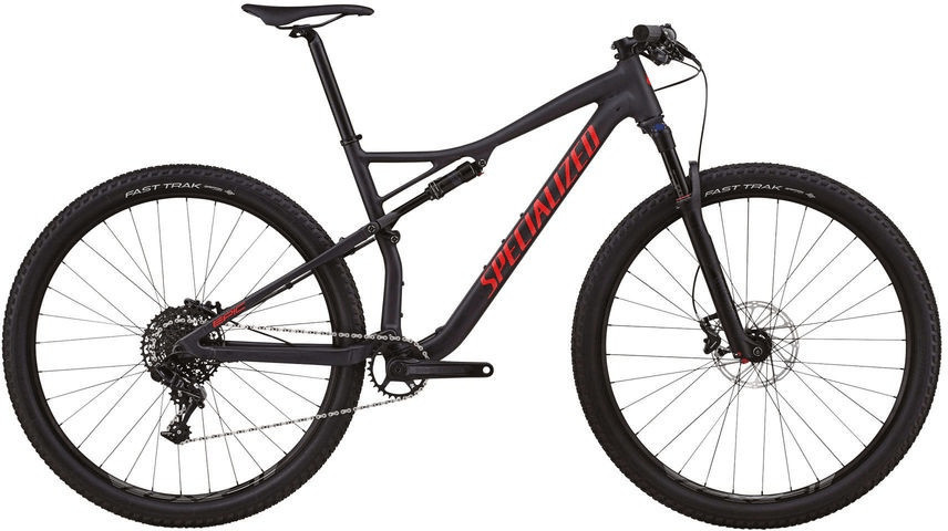 Specialized Epic Comp (2018) (black-red)