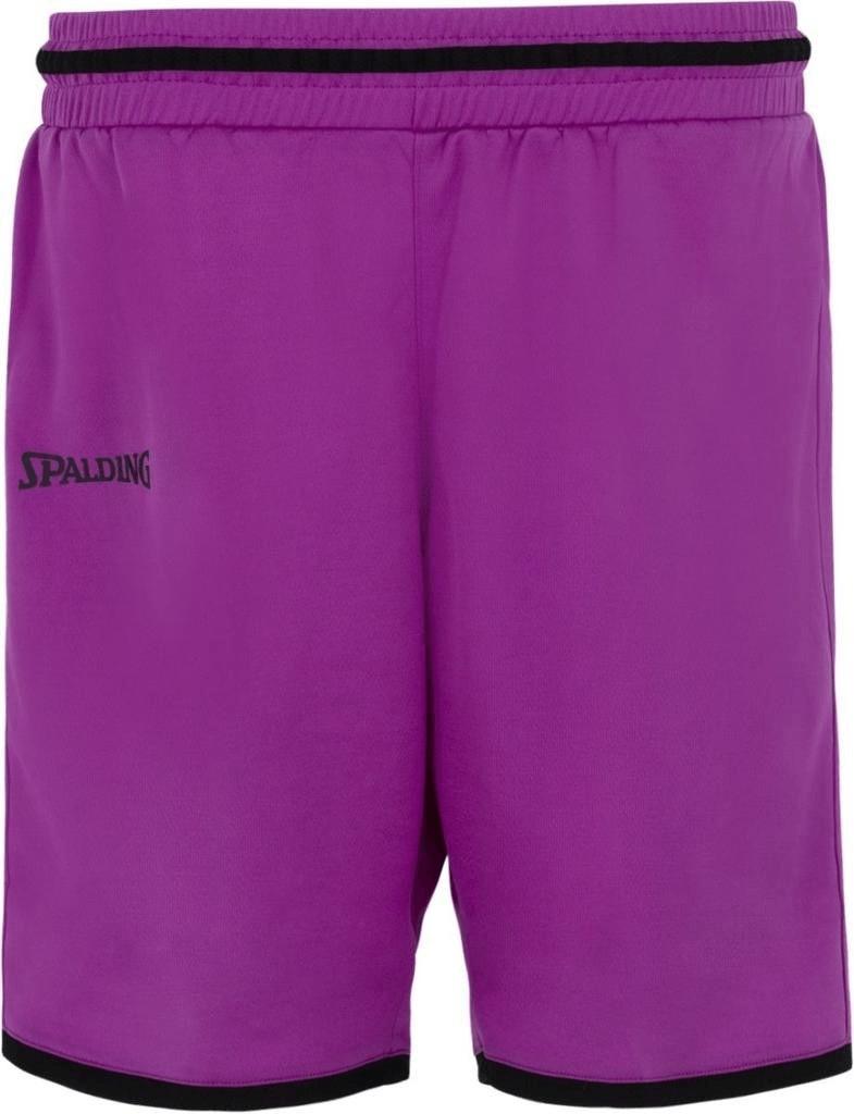 Spalding Move Shorts Women purple/black