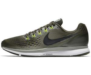 Official 880555 Images nike air zoom pegasus 34 platinum Bleu 880555 Official 008 1a5e20