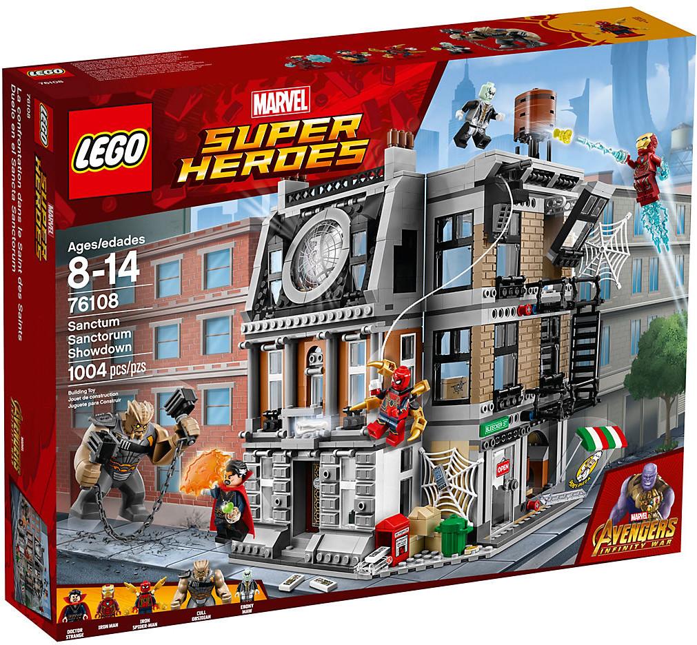 LEGO Marvel Super Heroes - La bataille pour la protection du Saint des Saints (76108)