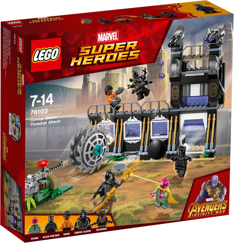 LEGO Marvel Super Heroes - L'attaque de Corvus Glaive (76103)
