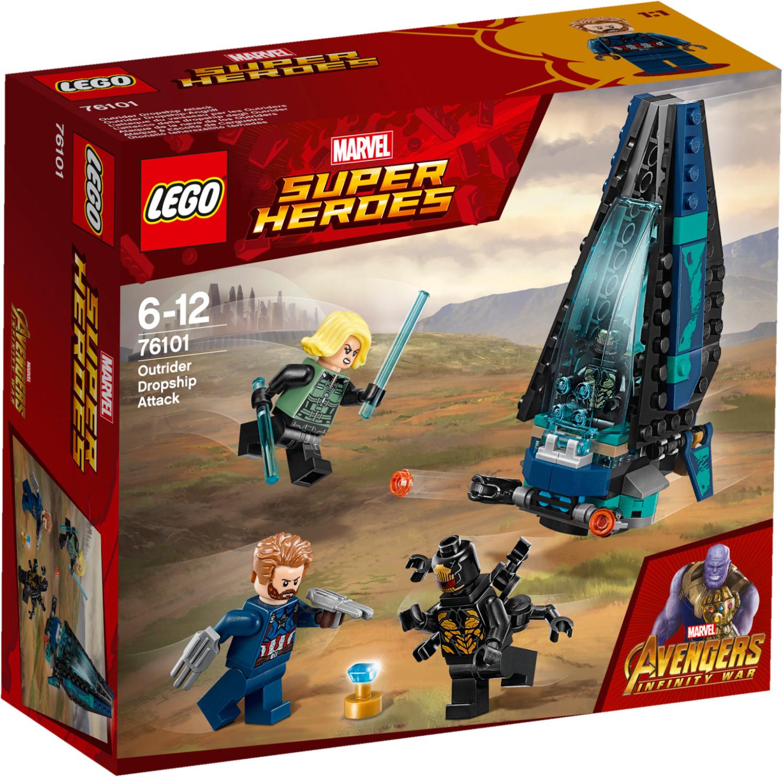 LEGO Marvel Super Heroes - L'attaque du vaiseau par les Outriders (76101)