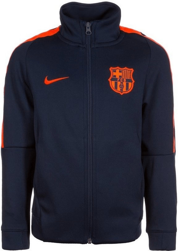 Nike FC Barcelona Franchise Trainingsjacke Kind...