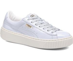Puma Basket Platform Patent Sneaker Damen Mädchen Schuhe