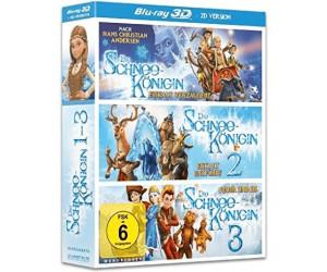 Die Schneekönigin 1 -3 (3D) (Animation) [Blu-Ray]