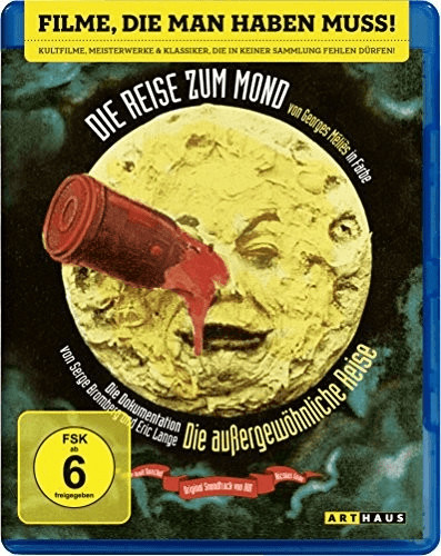 Die Reise zum Mond [Blu-ray]
