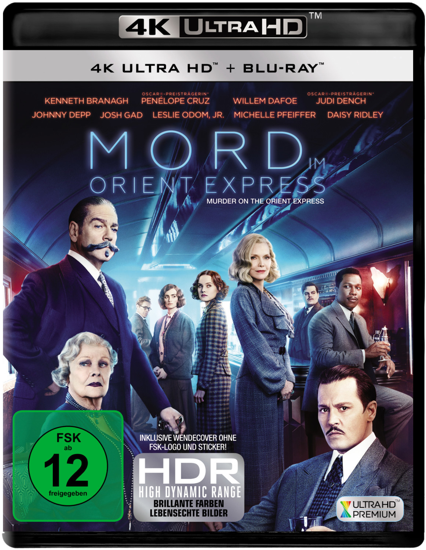 Mord im Orient Express (4K Ultra HD) [Blu-ray]