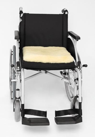 Russka Rollstuhl-Sitzkissen Schaf-Fell