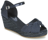 Tommy Hilfiger Damen Iconic Elba Metallic Canvas Espadrilles