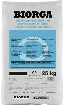 Hauert Biorga Stickstoffdünger 25 kg