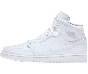 reputable site d3ccc fbebb Nike Air Jordan 1 Mid Hi white pure platinum