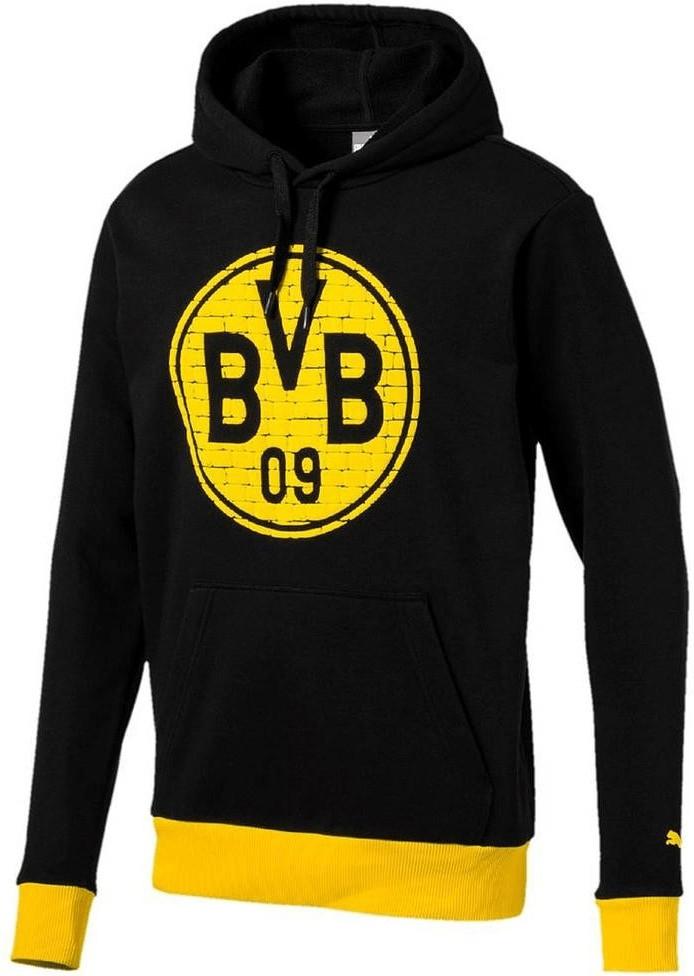 Puma BVB Pullover BVB Logo 2018 puma black