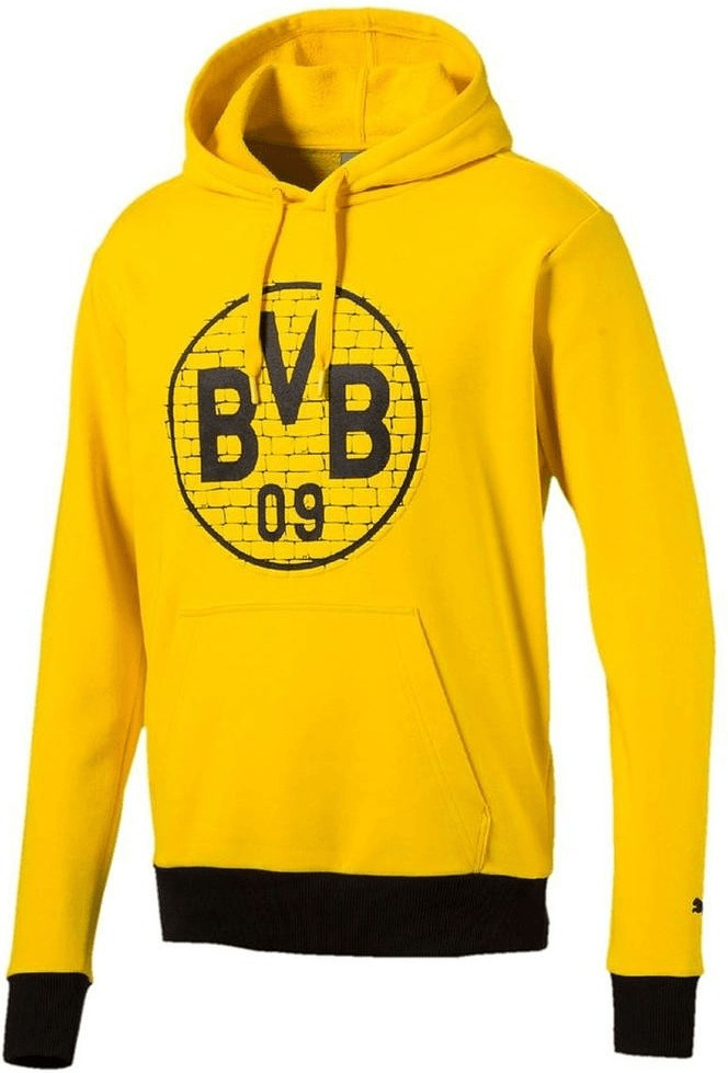 Puma BVB Pullover BVB Logo 2018 puma yellow