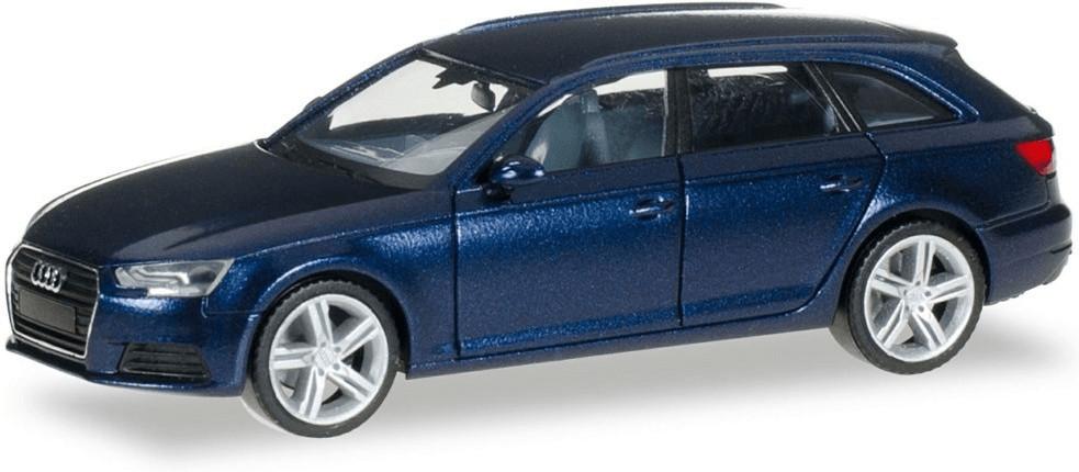 Herpa Audi A4 Avant scubablau metallic