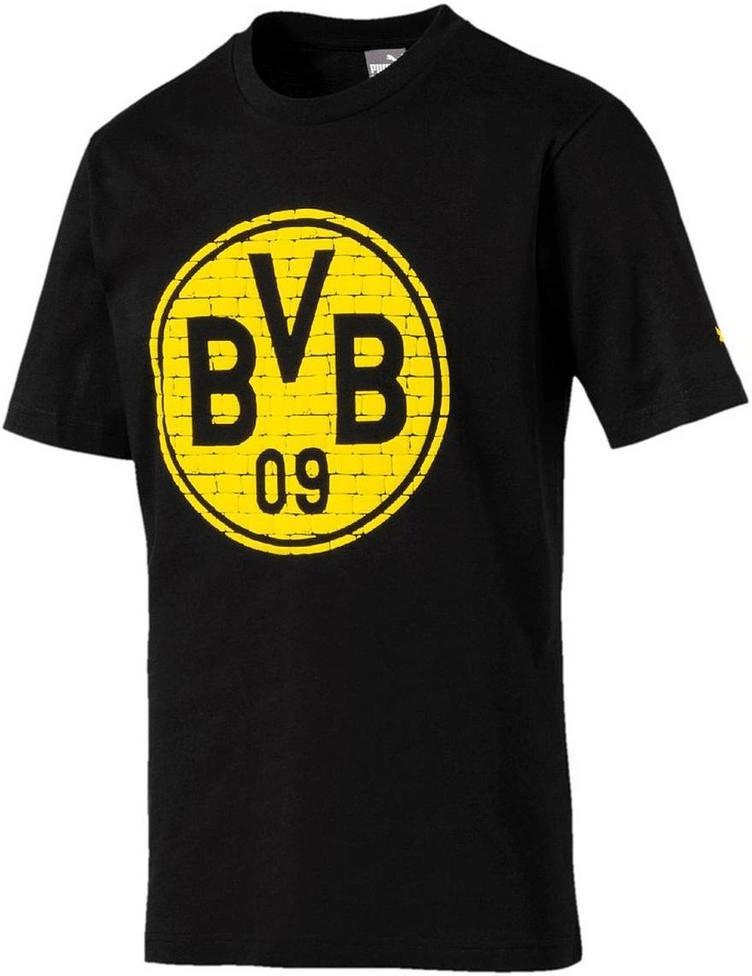 Puma BVB T-Shirt BVB Logo 2018 puma black