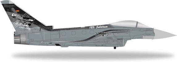 Herpa Luftwaffe Eurofighter Typhoon TaktLwG31 S...