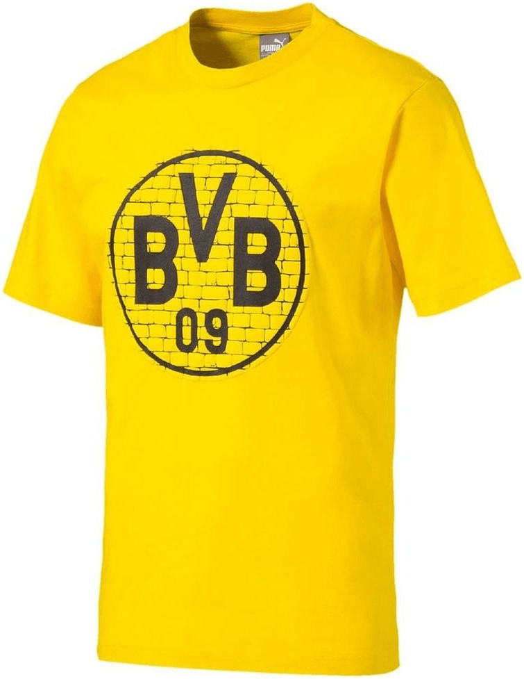 Puma BVB T-Shirt BVB Logo 2018 cyber yellow