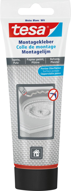 Tesa Montagekleber für Tapeten und Putz 150g