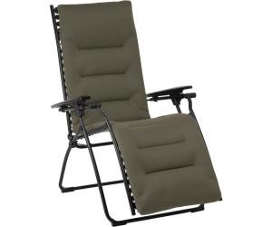 Lafuma Evolution Relaxliege Stahl/Air Comfort Schwarz/Taupe (LFM 2766.7057)