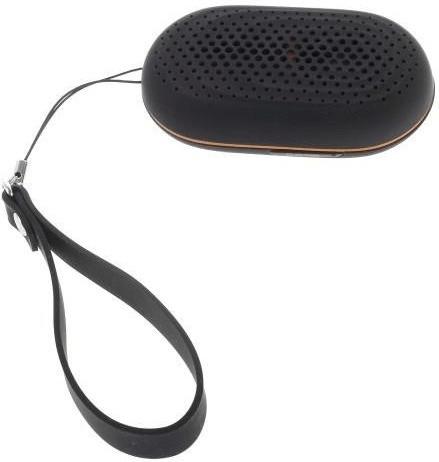 iProtect 2 in 1 Mini Lautsprecher + Bluetooth Selfie Auslöser schwarz