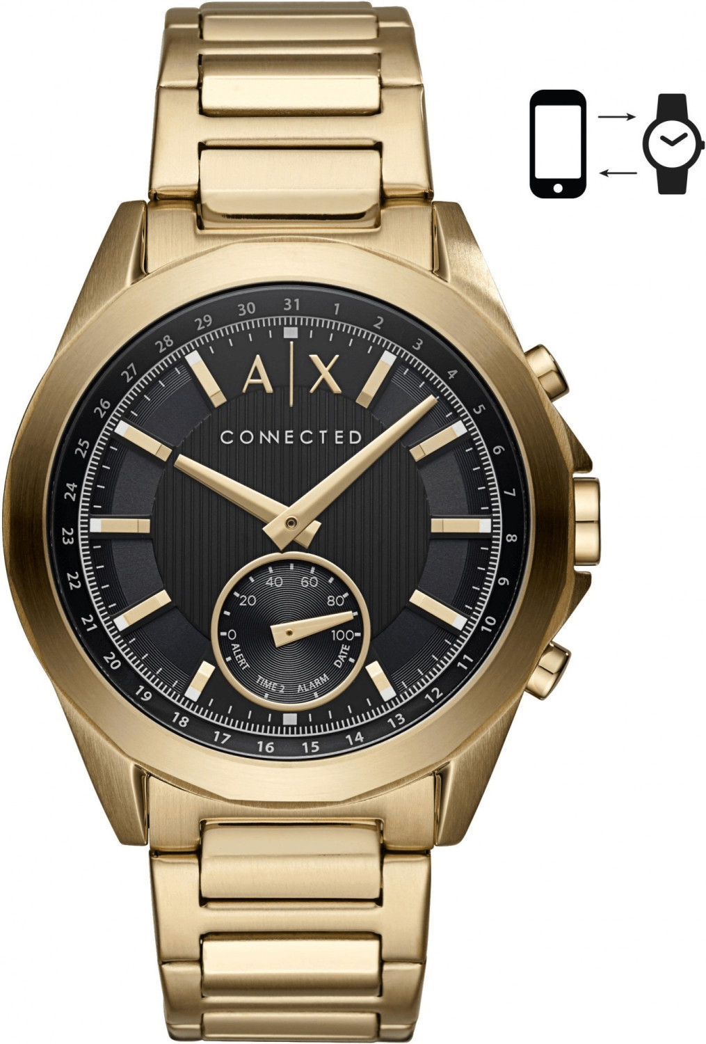 Armani Exchange Connected gold