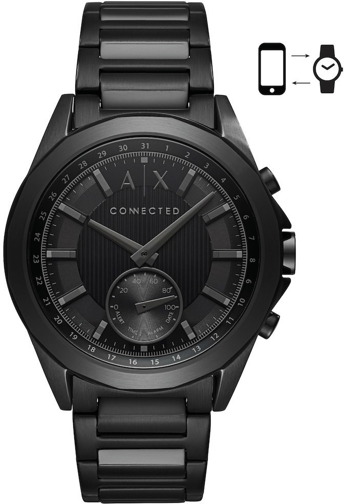 Image of Armani Exchange Connected black (AXT1007)