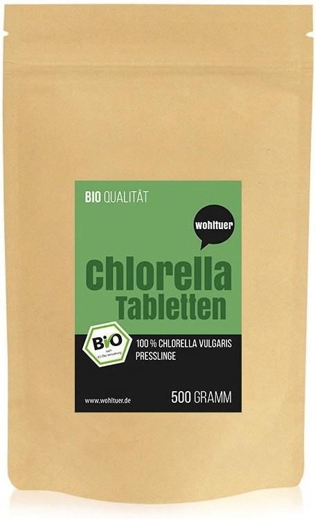 Wohltuer Bio Chlorella Tabletten (500g)