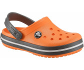 crocs Kinder Sandale Crocband Clog K 204537 Blazing Orange/Slate Grey 34-35 zTIRp
