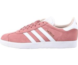 adidas Unisex-Erwachsene Gazelle Sneakers, Rosa (Icepur/White/Goldmt), 47 1/3 EU