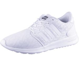adidas Cloudfoam QT Racer, Sneakers Basses Femme, Rose (Haze Coral/Footwear White/Hi-Res Orange 0), 42 2/3 EU