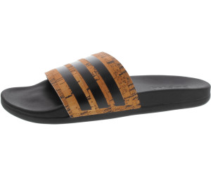 wholesale dealer 7615d 310c5 Adidas Adilette Cloudfoam Plus cork core blackcore blackcore black