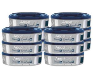 Deluxe und Comfort Plus Angelcare 12 Nachfüllkassetten für Windeleimer Comfort