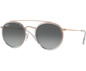 43dca6575fe Buy Ray-Ban Round Double Bridge RB3647N from £86.39 .