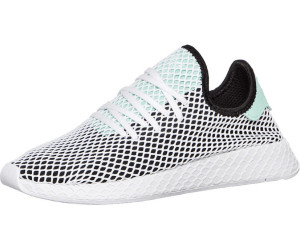 cbe7b061836ca1 Adidas Deerupt Runner core black easy green ftwr white. Adidas Deerupt  Runner