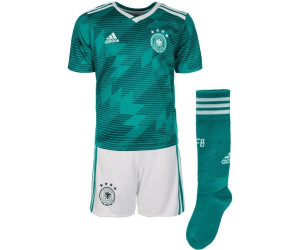 7176b6a1c Buy Adidas Germany Away Minikit 2018 from £29.99 – Best Deals on ...