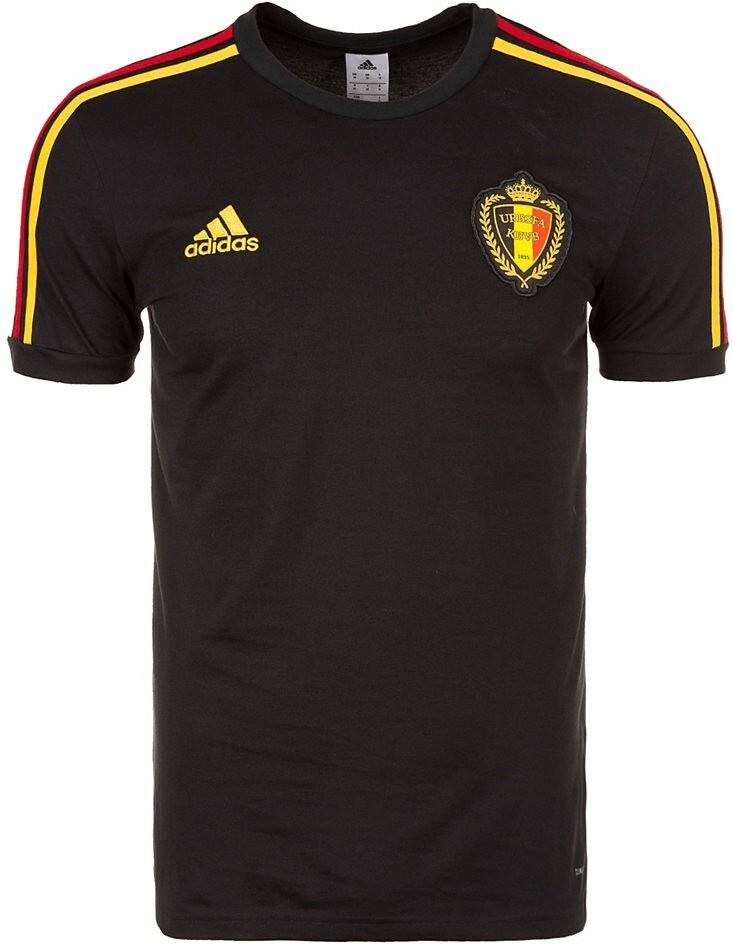 Adidas Belgien T-Shirt WM 2018 black/bold gold