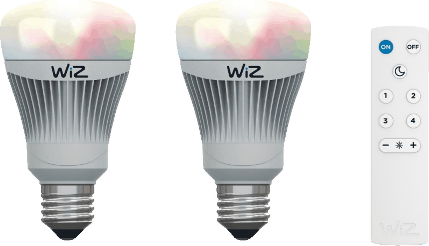 Wiz LED Smart 11,5W E27 Colours 2-Pack (WZ0126082)