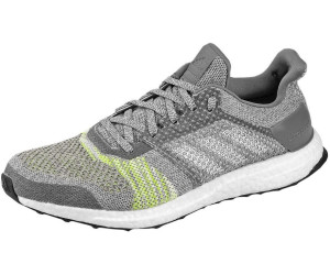 7cb3075cd Adidas Ultra Boost ST Running Shoes. grey two grey five solar slime