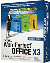 Corel WordPerfect Office X3 Standard (DE) (Win)