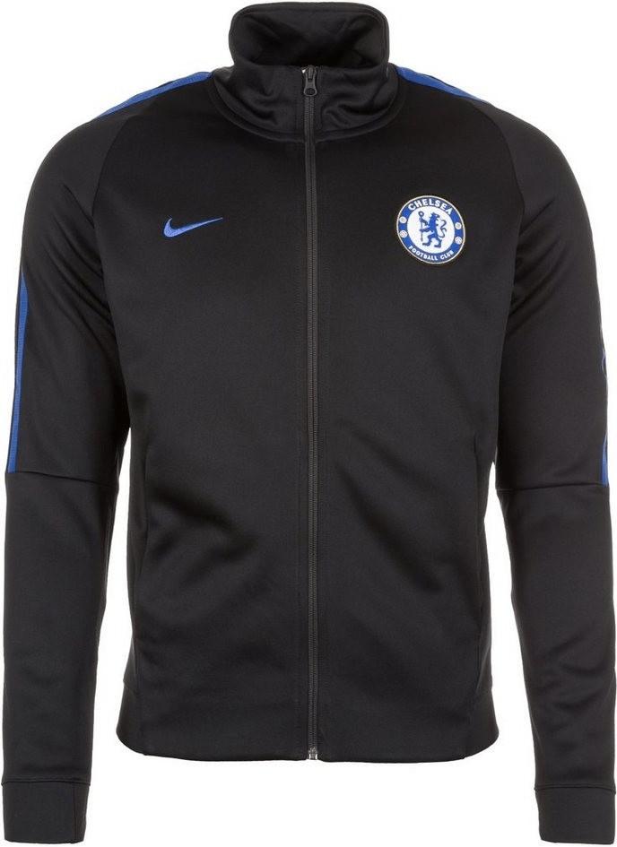 Nike FC Chelsea London Franchise Jacke black/ru...